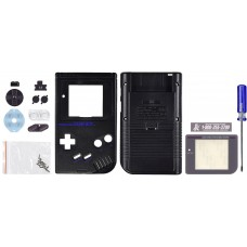GameBoy Play it Loud Replacement Shell, Deep Black